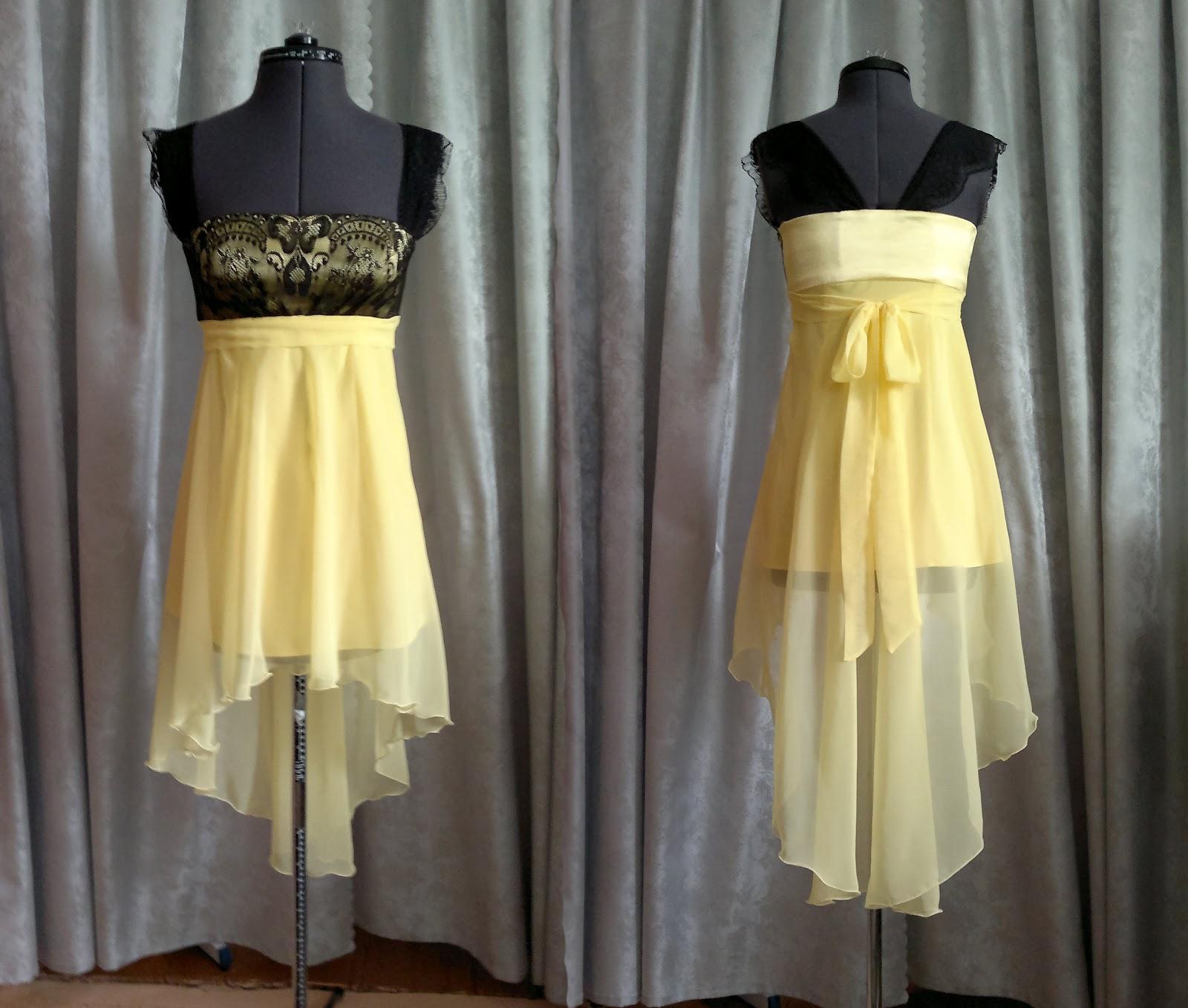 Как сделать красивую юбку для платья